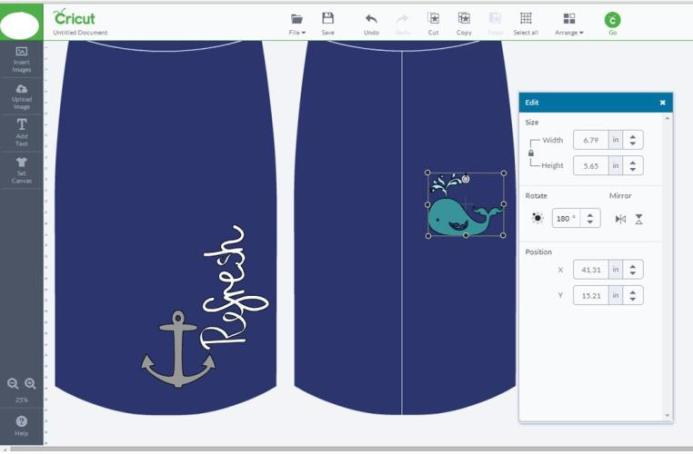 Refreshing My Clothes with the Cricut Explore by Jennifer Grace