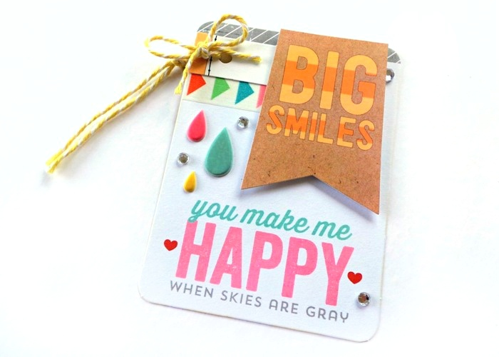 Big Smiles Tag by Jennifer Grace