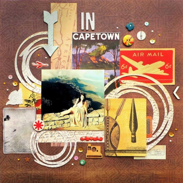 In Cape Town by Jennifer Grace using 7 Gypsies Serengeti