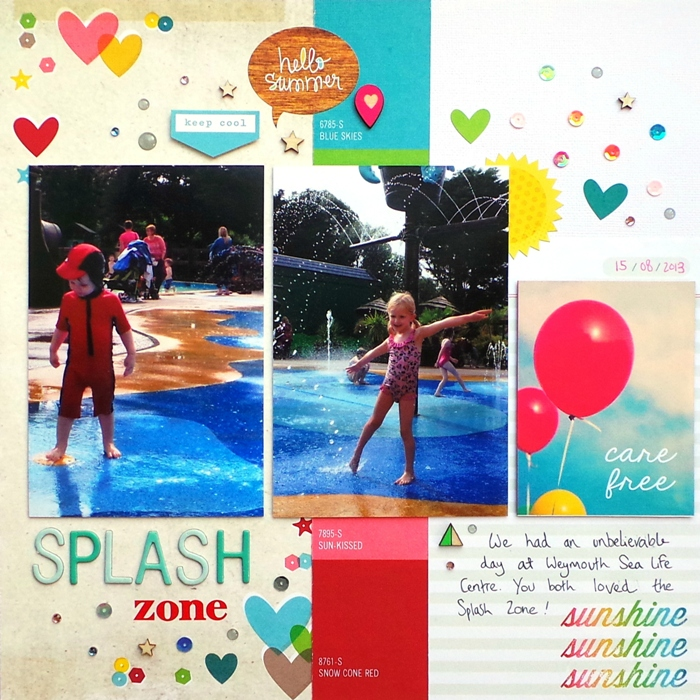 Splash Zone by Jennifer Grace