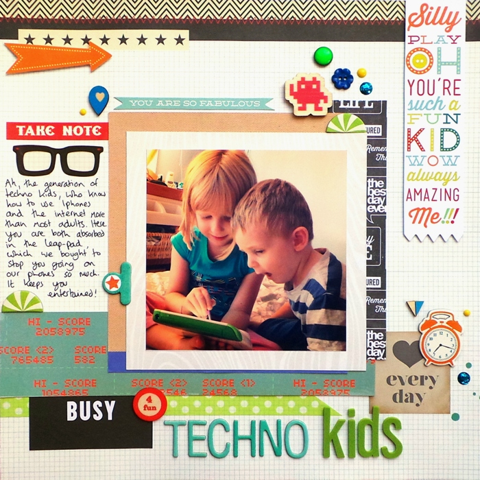Techno Kids by Jennifer Grace