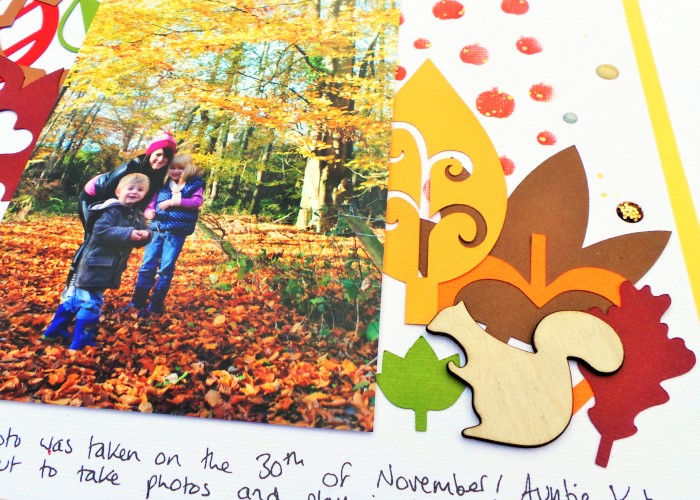 Late Autumn by Jennifer Grace using Happy Scatter