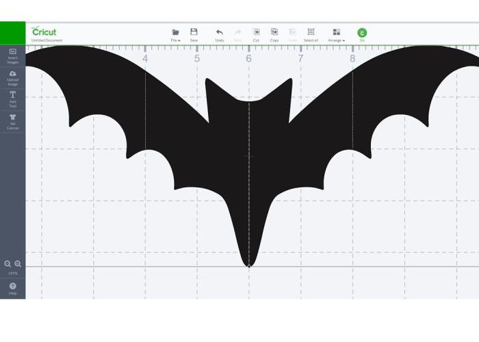 Hanging Bats with the Cricut Explore by Jennifer Grace