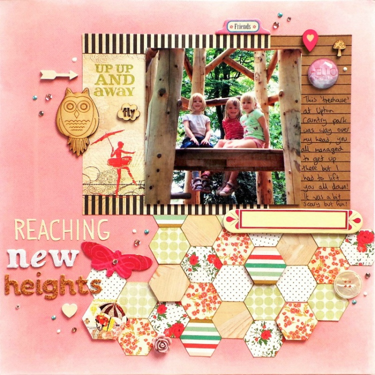 Reaching New Heights Layout by Jennifer Grace