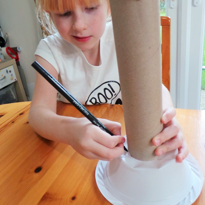 School Homework - Making A Candlestick Telephone at Jennifer Grace Creates