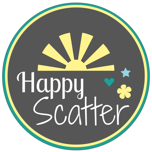Happy Scatter Etsy Shop Selling Crafty Stencils and Embellishments!