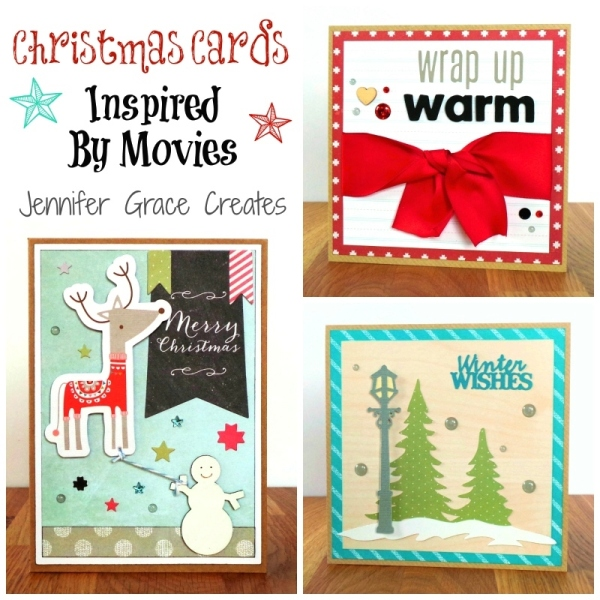 Christmas Cards Inspired By The Movies at Jennifer Grace Creates