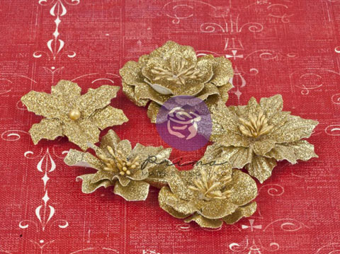 Prima Holiday Jubilee Flowers at Wear Crafts