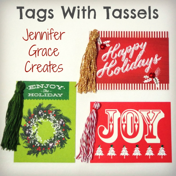 Tags With Tassels at Jennifer Grace Creates