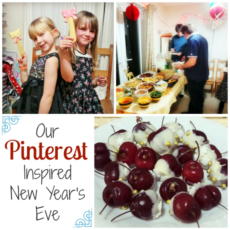 Our Pinterest Inspired New Year's Eve at Jennifer Grace Creates