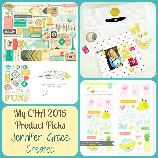 My Cha 2015 Product Picks at Jennifer Grace Creates