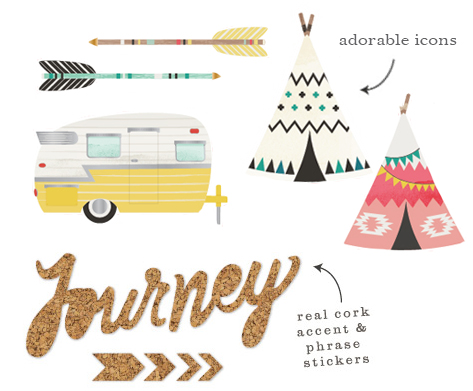 Crate Paper Journey Collection