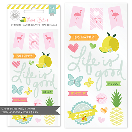 Pink Paislee Citrus Bliss Collection
