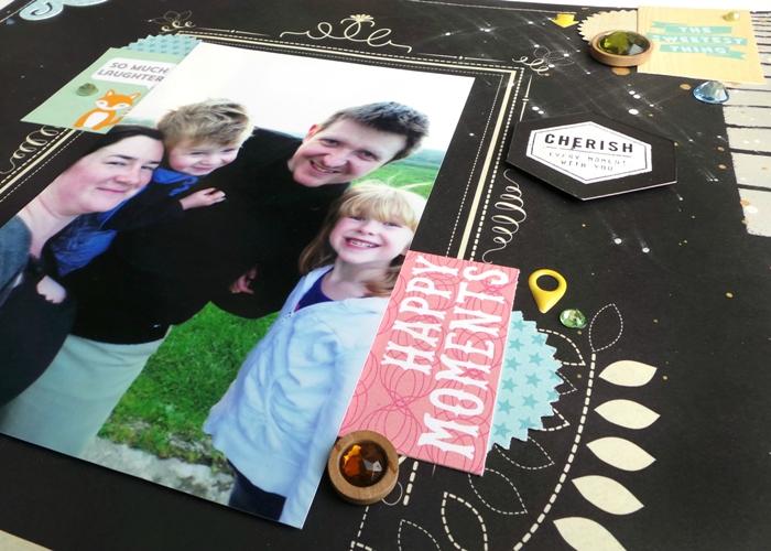 Celebrate Today layout at Jennifer Grace Creates