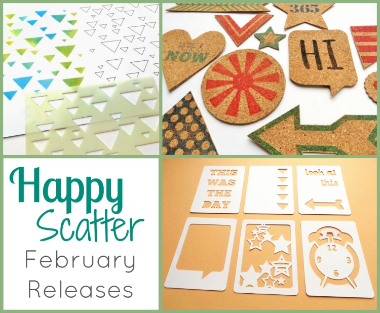 Happy Scatter Etsy Shop February 2015 Releases