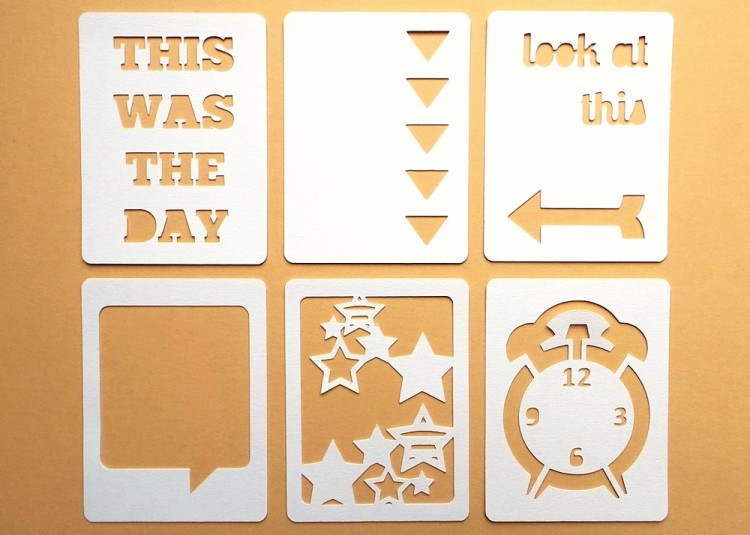 Look At This 3x4 Die Cut Cards at the Happy Scatter Etsy Shop