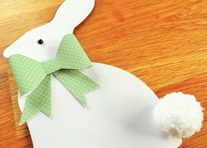 An Easter Bunny Shaped Card Tutorial Using The Cricut Explore
