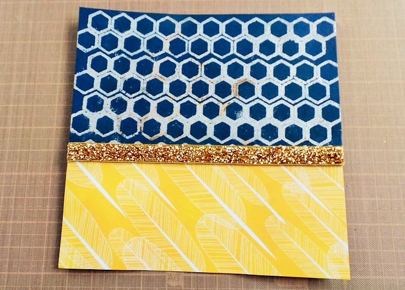 Creating A Background With FlitterGlu at Jennifer Grace Creates