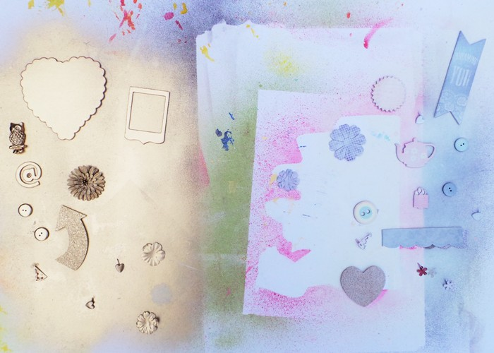 Renew Your Embellishments With Spray Paint! Jennifer Grace Creates