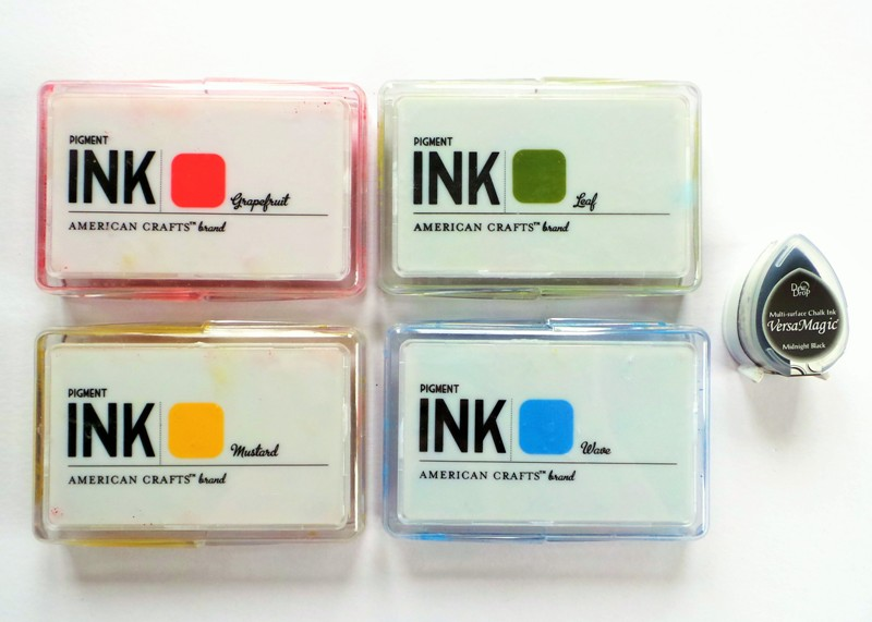 American Crafts Pigment Ink Pads