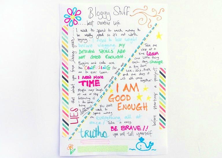 Amy Tangerine's Creative Handbook Review Part 2 at Jennifer Grace Creates