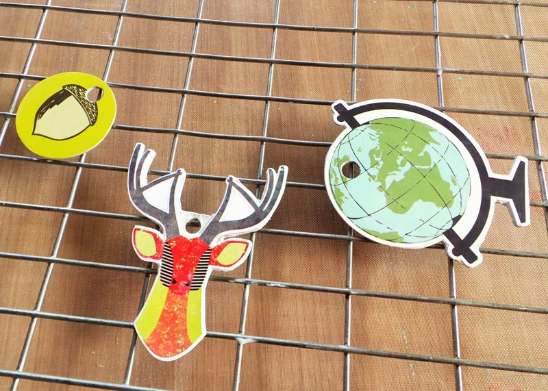 Turn Scrapbook Stickers Into Pendants at Jennifer Grace Creates