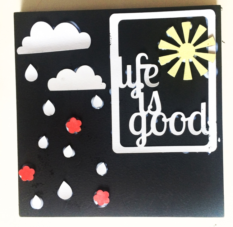 Guest Post - McCall Clifford with a Happy Scatter Home Decor Piece!