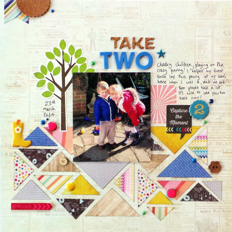 Triangle Pattern Layout Process Video at Jennifer Grace Creates