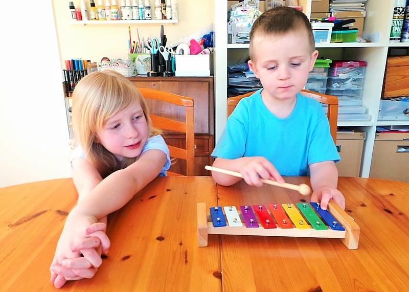 Kids Focus Challenge - A Rainy Day Indoor Activity