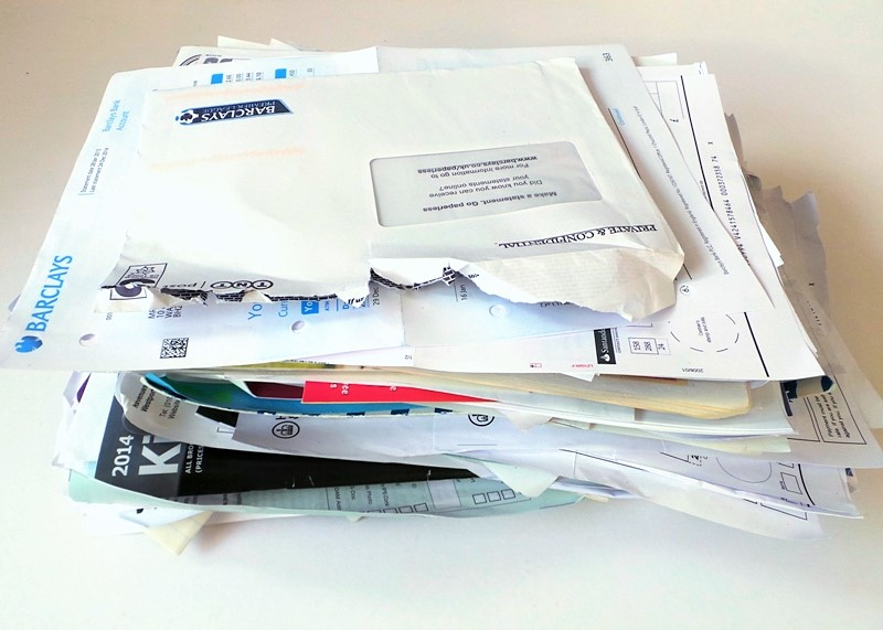 Pile Of Paperwork To Be Dealt With at Jennifer Grace Creates