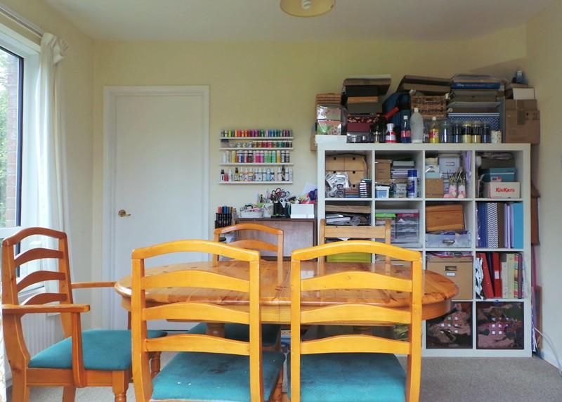 My Craft Space at Jennifer Grace Creates