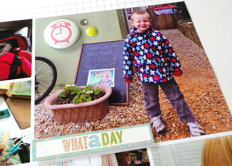 Keeping It Simple - Everyday Moments Layout at Jennifer Grace Creates