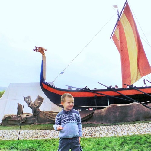 Viking Ship at Corfe Castle - May 2015 In Pictures at Jennifer Grace Creates