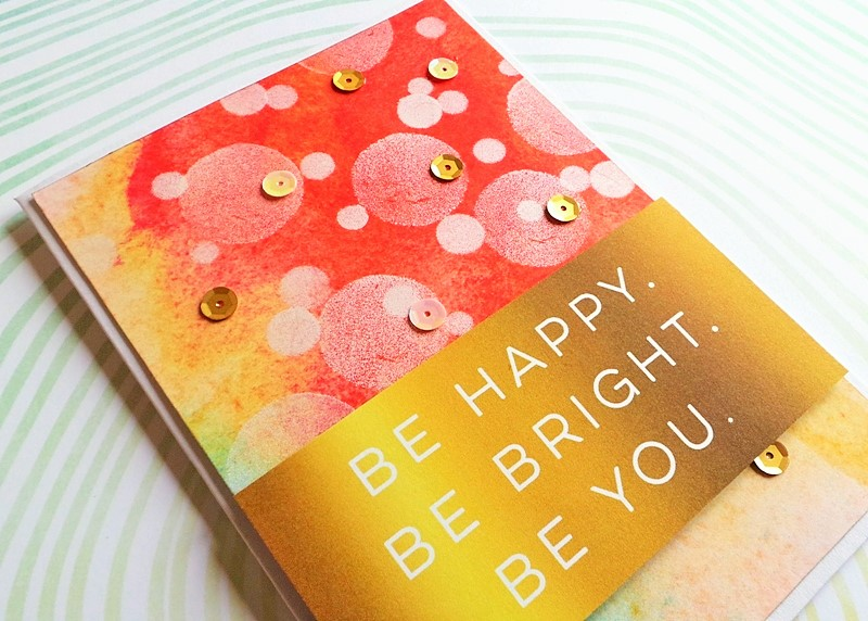 Bokeh Effect Card Background at Jennifer Grace Creates