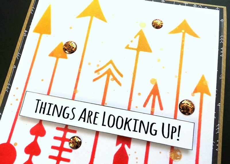 Things Are Looking Up! A Lot Of Arrows Card at Jennifer Grace Creates