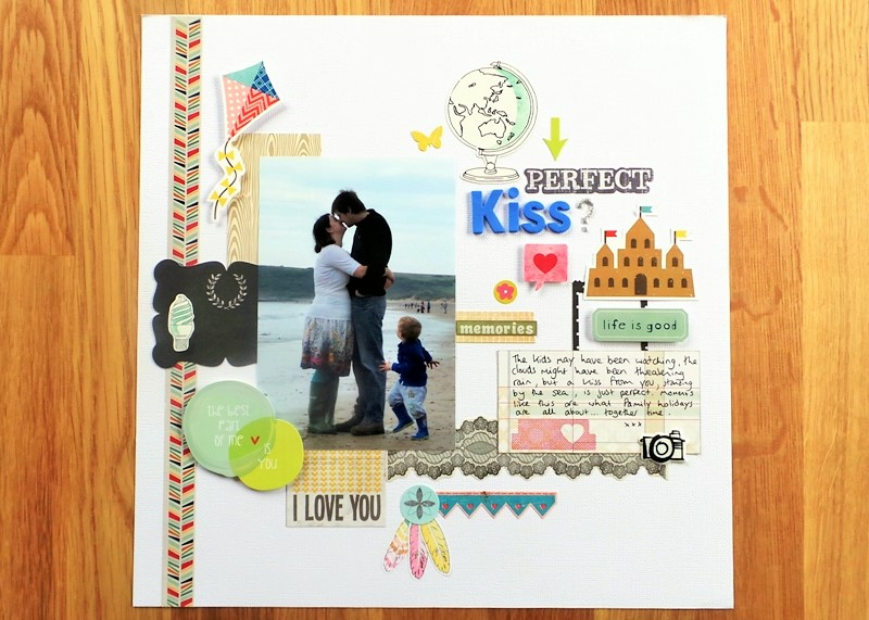 Focus On Excess Supplies - Sticker Surplus Layout at Jennifer Grace Creates
