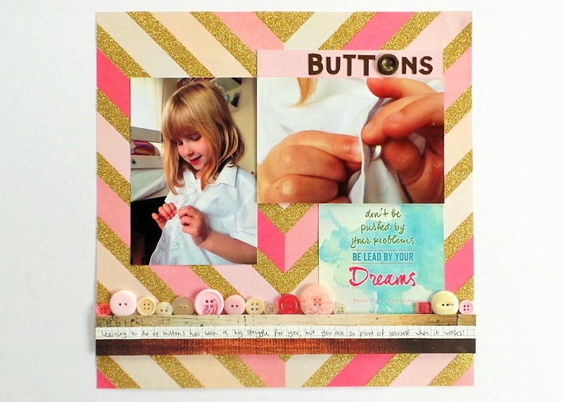 Get Close To The Detail - Them Buttons Layout