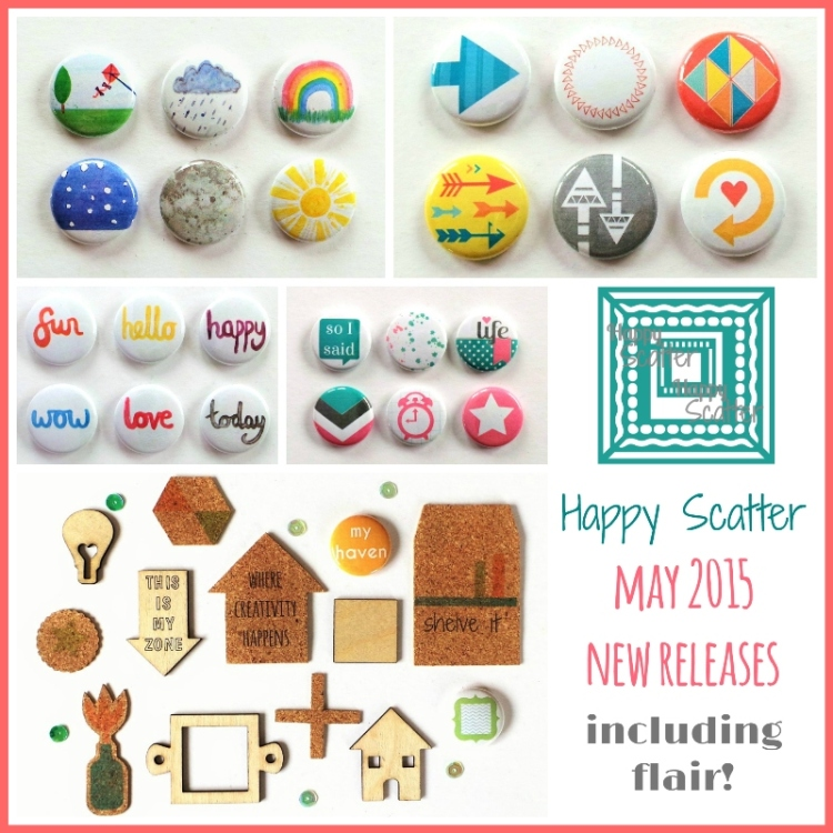 Happy Scatter May 2015 New Releases Including Flair
