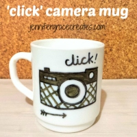 Click Camera Mug at Jennifer Grace Creates
