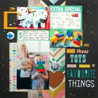 Focus On What's Important To Someone Else - Layout at Jennifer Grace Creates
