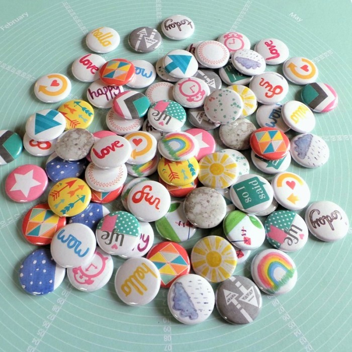 New Flair at the Happy Scatter Etsy Shop