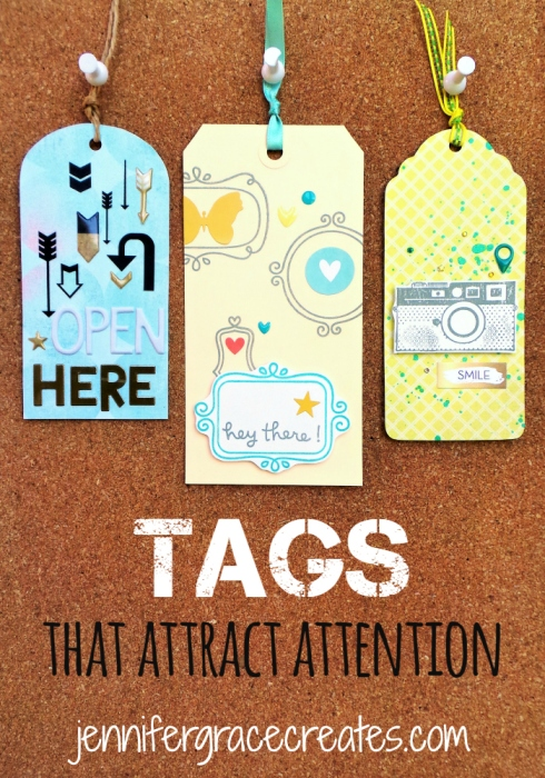 Tags That Attract Attention at Jennifer Grace Creates