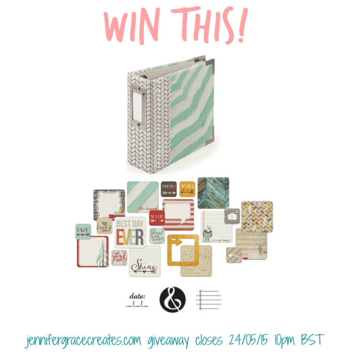 WRMK Insta Album Shine Giveaway at Jennifer Grace Creates for the Focus Your Craft & Soul Blog Hop