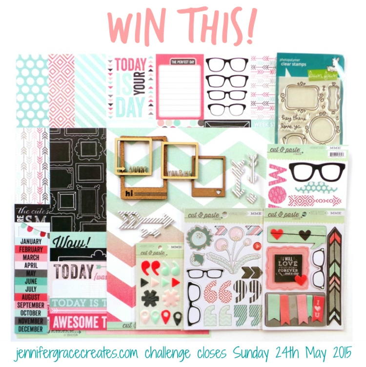The Challenge To Be Inspired Prize for the Focus Your Craft & Soul event at Jennifer Grace Creates