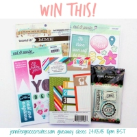 Pin It Giveaway at Jennifer Grace Creates ends Sunday 24th May at 10pm BST