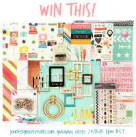The Focus Your Craft & Soul Grand Giveaway at Jennifer Grace Creates! Closes 24th May 2015 at 10pm BST