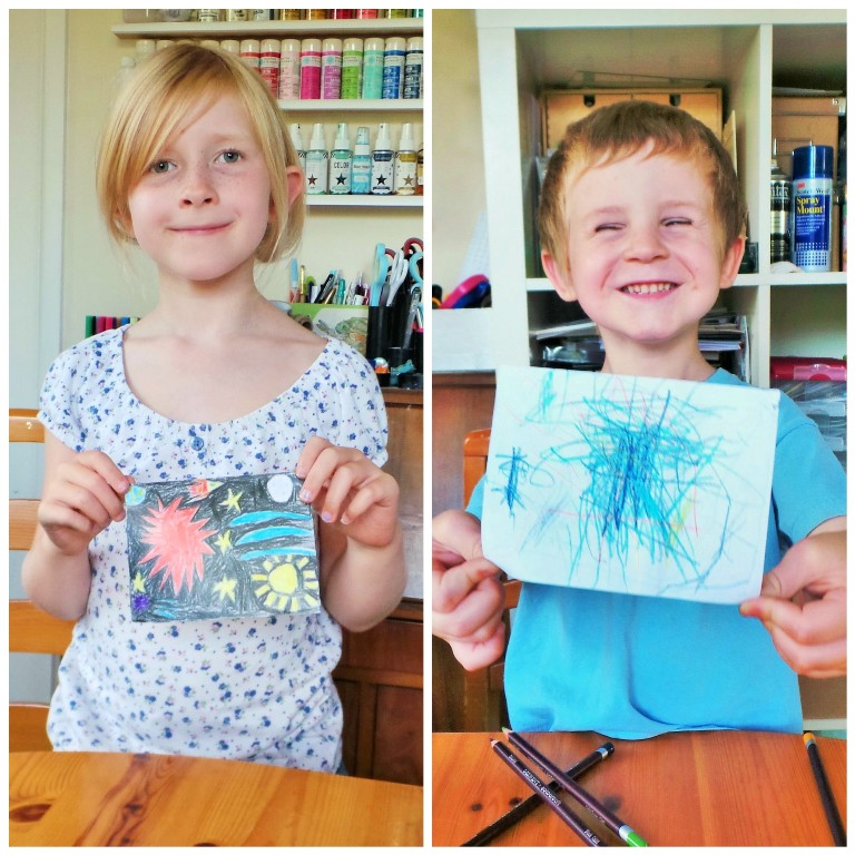 Craft Stick Puzzles - A Rainy Day Kids Activity at Jennifer Grace Creates