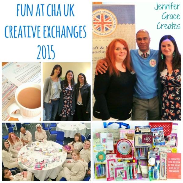 Fun at CHA UK Creative Exchanges 2015