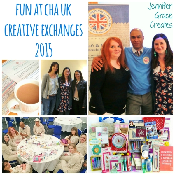 Fun at CHA UK Creative Exchanges 2015