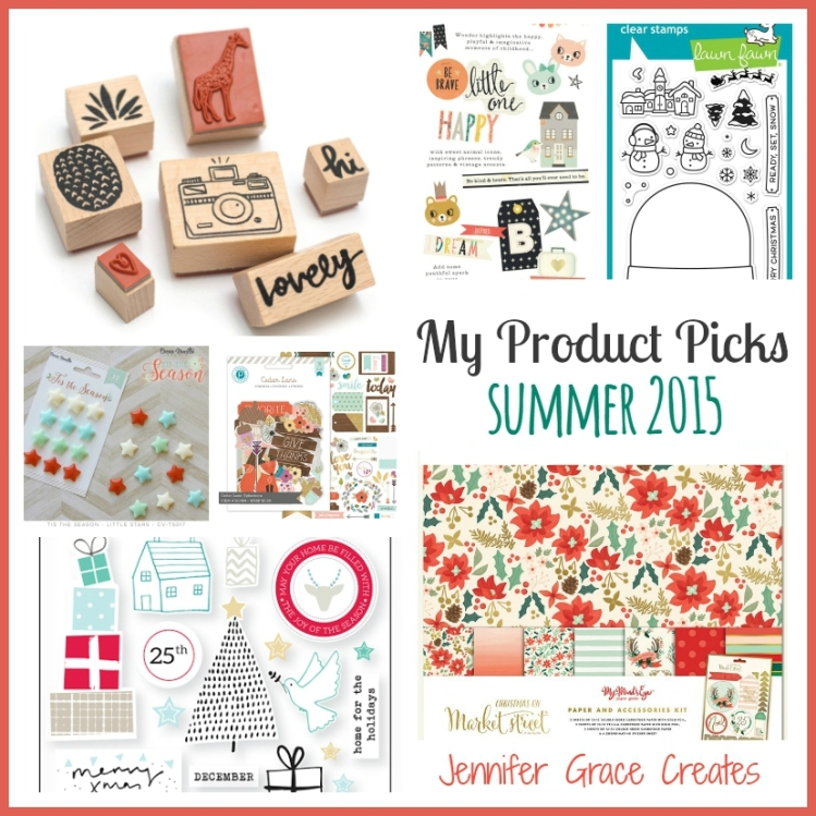 My Product Picks Summer 2015 at Jennifer Grace Creates
